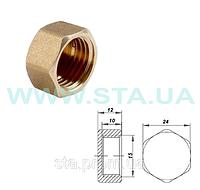 Заглушки для труб с внутренней резьбой 15мм ГОСТ 8963