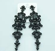 Пополнение коллекции нарядных длинных серёжек. Праздничные украшения от бижутерии оптом RRR.