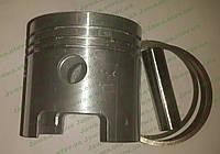Поршень кольца палец мотоблок косилка MF 70, 67.42 мм, 2 ремонт Чехия