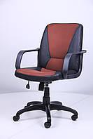 Кресло Лига Пластик Неаполь N-20 вставка Сетка бордовая (AMF-ТМ)