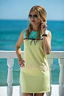 Желтое летнее Платье Валери