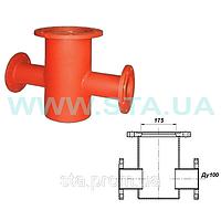 Подставка гидранта пожарного проходная фланцевая  ПППФ Ду100мм ГОСТ 8220-85