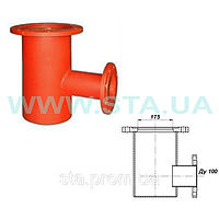 Подставка фланцевая под пожарный гидрант ППФ Ду100мм ГОСТ 8220-85