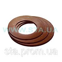 Прокладка  для ниппеля чугунного радиатора 39x32,9x2,5 биконит(100шт)