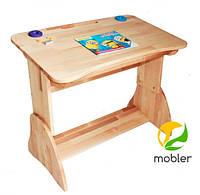 Дитяча парта для школяра Mobler з ящиком, 90 см