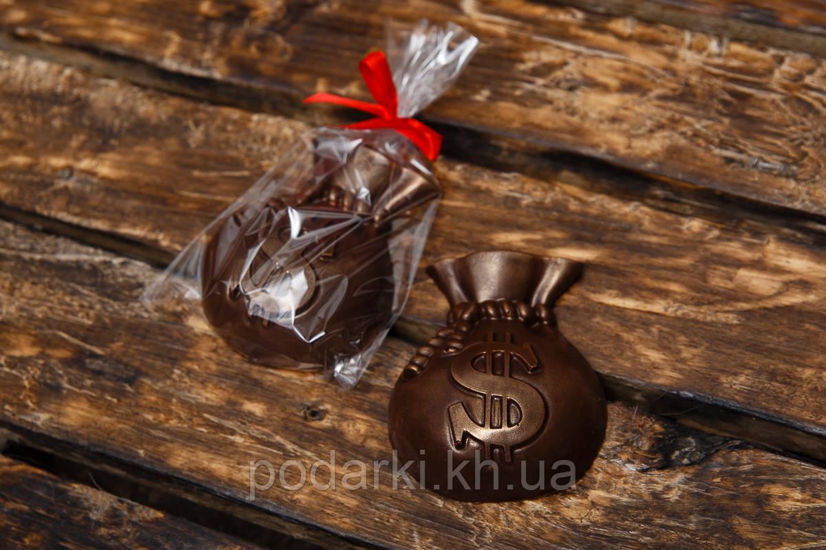 Шоколадный Мешок богатства для девушки