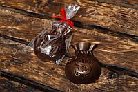 """Шоколадная фигура  """"Мешок богатства"""". Сладкий подарок друзьям."""