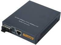 Медиаконвертор GS03-W1-20R WDM 10/100/1000