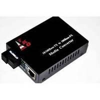 Медиаконвертор TKO-WS02S-20 1550 WDM mini + блок питания 5V 1A