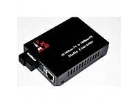 Медиаконвертор TKO-WS01S-20 1310 WDM mini + блок питания 5V 1A