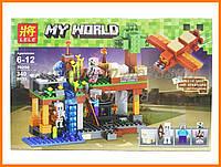 """Конструктор Lele Minecraft """"Воздушная гавань"""" 79256"""