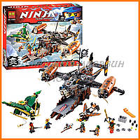 Конструктор Ninja 10462 (аналог Lego Ninjago 70605) Цитадель Несчастья