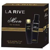 Женский подарочный набор LA RIVE MOON (Туалетная вода+дезодорант)