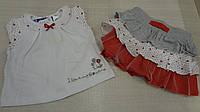 Комплект для девочки с юбкой, фото 1