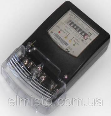 Електролічильник СЕА 101-02 5(60)А 143/253В однофазний, 2-х елементний, кл. точності.1
