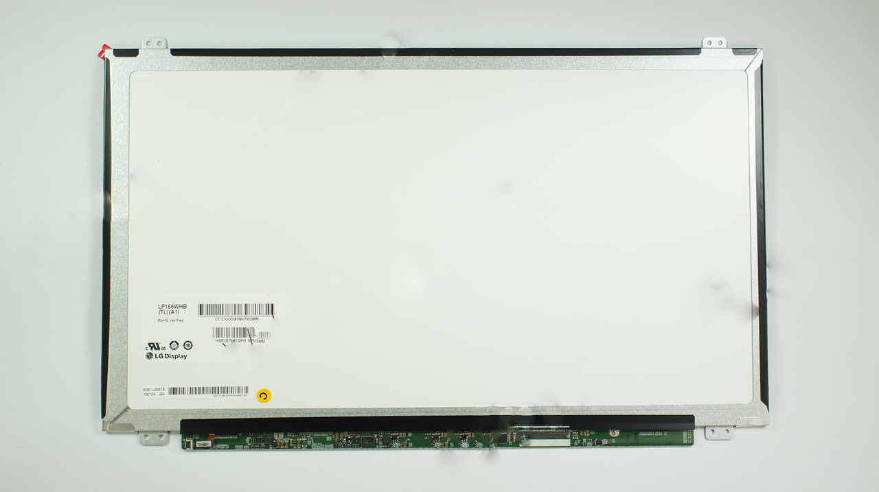 "Матрица 15.6"" LP156WHB-TLA1 (1366*768, 40pin, LED, SLIM(вертикальные ушки), глянец, разъем справа внизу) для н"