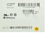"""Матрица 15.6"""" LP156WHB-TLA1 (1366*768, 40pin, LED, SLIM(вертикальные ушки), глянец, разъем справа внизу) для н, фото 2"""