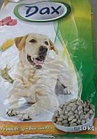 Полноценный сухой корм Дакс (Dax) для взрослых собак с птицей (10кг)