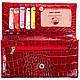 Великолепный яркий кожаный кошелек CANPELLINI (КАНПЕЛЛИНИ), SHI157-1KR, фото 5