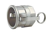 """Быстроразъёмное соединение Camlock 2 1/2"""" тип D нерж. сталь"""