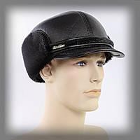 Мужская шапка из нерпы (Финка) черная