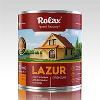 Лазурь  Premium  для дерева 3 в 1 0,75 л Ролакс доставка по Украине