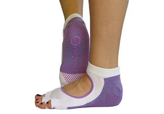 Белые носки для йоги