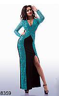 Открытое вечернее платье - 8358