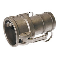 """Быстроразъёмное соединение Camlock 4"""" тип C нерж. сталь"""