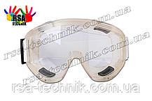 Окуляри захисні закритого типу (прозорі)