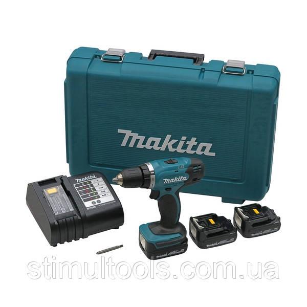 Аккумуляторный шуруповерт Makita DDF343SHE
