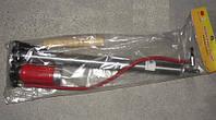 Насос ручной деревянная ручка с манометром