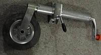 Опорное колесо прицепа (ручка литая)