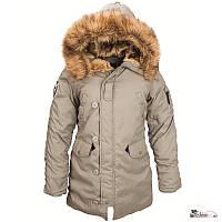 Женская куртка парка Altitude W Parka Alpha Industries (alaska green)