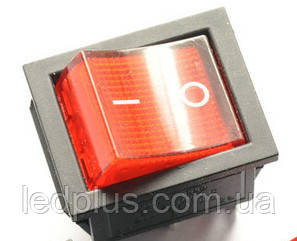 Переключатель клавишный IRS-202-6pin с подсветкой
