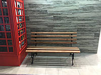 Скамейка кованая 1.75 м. без перил