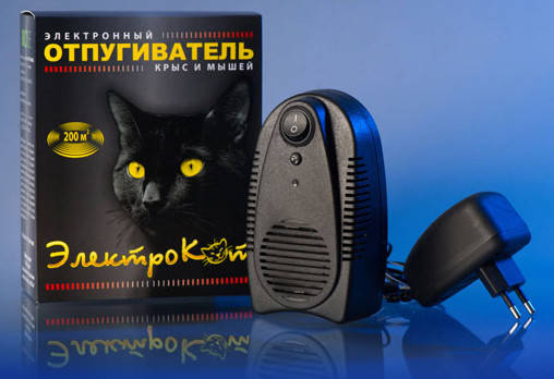 Электрокот-Классик отпугиватель грызунов ультразвуковой, фото 2