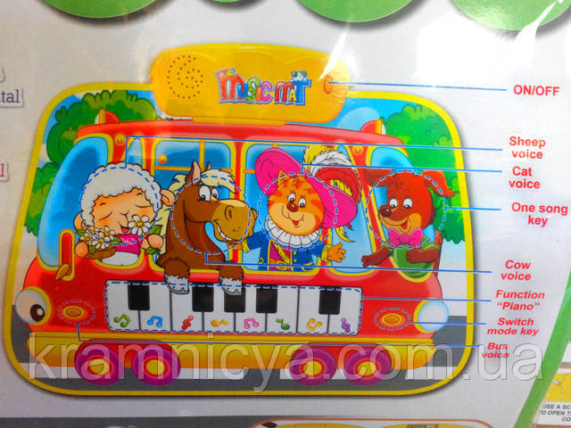 Музыкальный коврик для детей