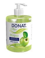 Донат Жидкое мыло косметическое с дозатором 0.5 л (яблоко)