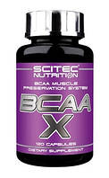 BCAA-X Scitec Nutrition, 120 капсул