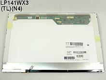 "Матрица 14.1"" LP141WX3-TLN4 (1280*800, 30pin, 1CCFL, NORMAL, глянцевая, разъем справа вверху) для ноутбука"