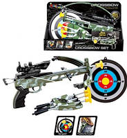 Игрушка арбалет со стрелами 35881L