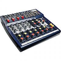 Прокат, аренда микшерного пульта Soundcraft 124FX на 12 каналов