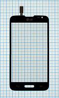 Тачскрин сенсорное стекло для LG D320 Optimus L70 black