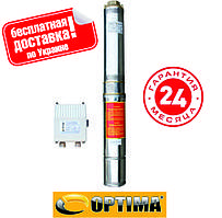 Насос скважинный OPTIMA 3SDm2.5/28 1.1 кВт 117м + пульт+кабель 15м. с пововышеной уст-тью к песку