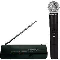 Студийный беспроводный микрофон Shure SM58 (2 микрофона + радиосистема)