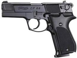 Пневматический пистолет Walther CP88  4'' c пластиковой рукоятью