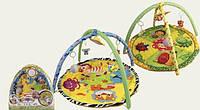 Детский игровой развивающий коврик с игрушками 898-302-303B в сумке (2 вида)