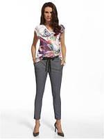 Штани 210006 легкі літні брюки вільного покрою синього кольору d27fdd5f3999f