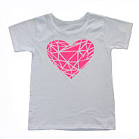 Трикотажная футболка для девочки, подростка, хлопок, р.р. 36-44